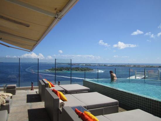 Hotel Jen Male: Rooftop view