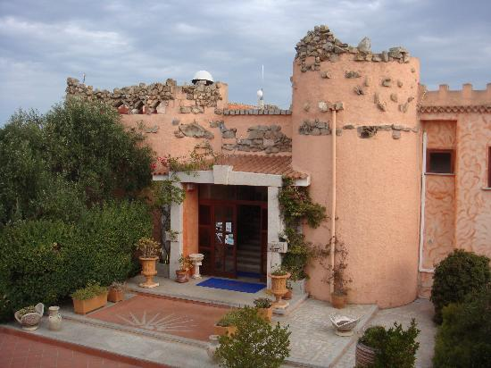 Hotel Le Dune : The entrance to the hotel