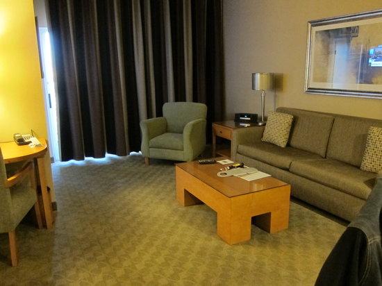 Platinum Hotel and Spa: living area
