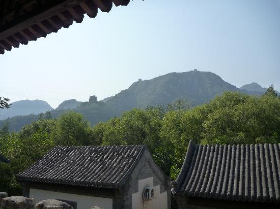 Red Capital Ranch (Shambhala at the Great Wall): view from the roof terrace