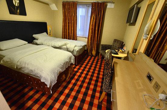 Academy Plaza Hotel: Standard twin room