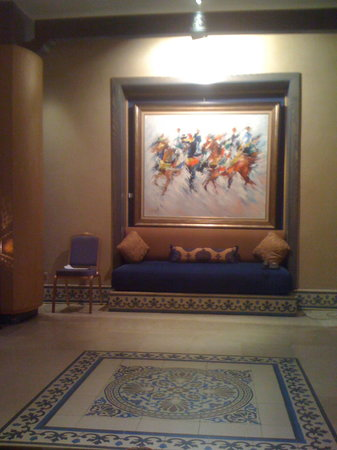 Le Meridien N'Fis: at the halls/lobby