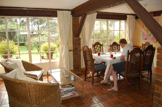 Kikuyu Lodge Hotel & Safaris - TEMPORARILY CLOSED: The dining room at Kikuyu Lodge