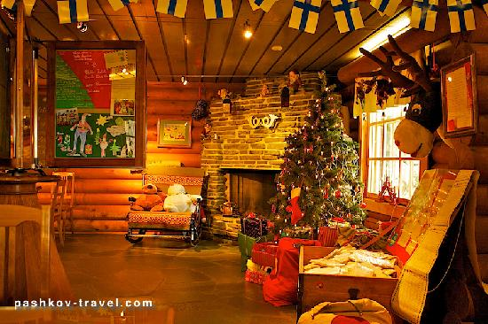 Santa Claus Village: Здесь дедушка мороз (Санта по ихнему) пишет деткам письма