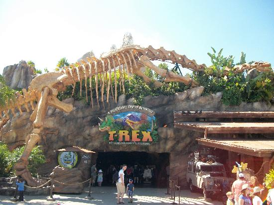 Disney Springs : Resto T-Rex..Un must!!!