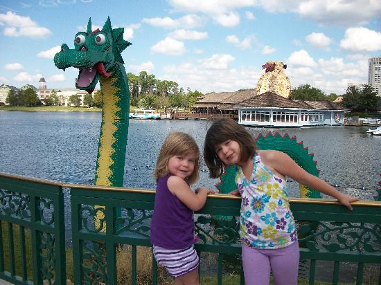 Disney Springs : vue sur le Rainforest Cafe
