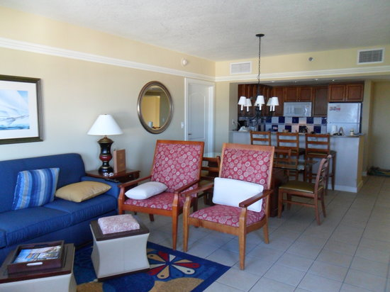 Marriott's Aruba Surf Club: Living area