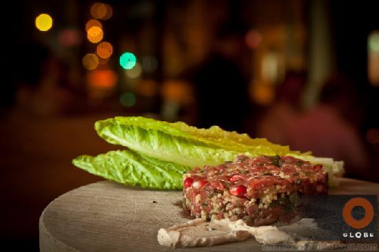 Globe Restaurant: Beef Tartar