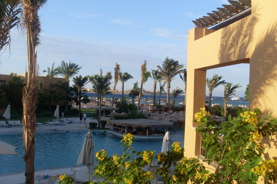 Stella Di Mare Beach Resort & Spa Makadi Bay: View from room 7187