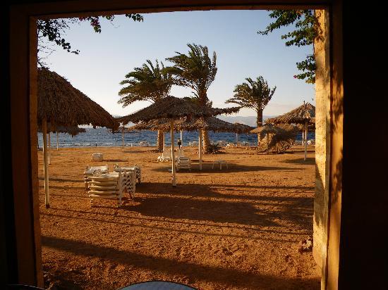 Coral Bay: vue de la chambre