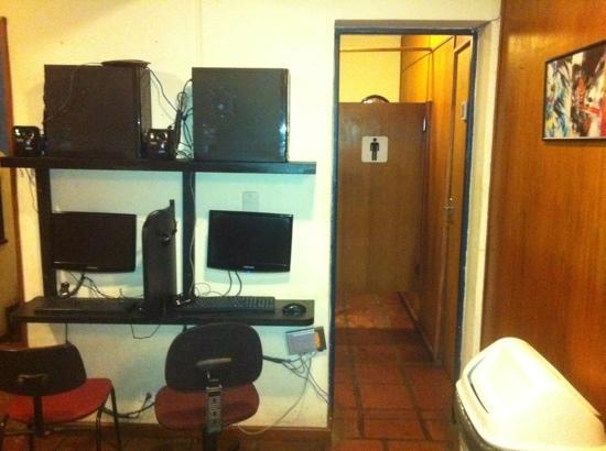Terrasse Hostel: social area