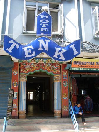 Kathmandu Grand Hotel: façade tenki