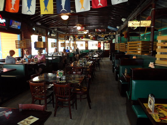 Conch Republic Grill Dining Area One Side