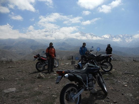 Mendoza Moto Aventura Day Tours: afternoon in the Andes