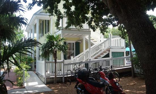 Key Lime Inn Key West : Key Lime Inn Registration building