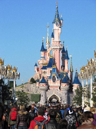 Chateau princesse photo de parc disneyland marne la for Image chateau princesse