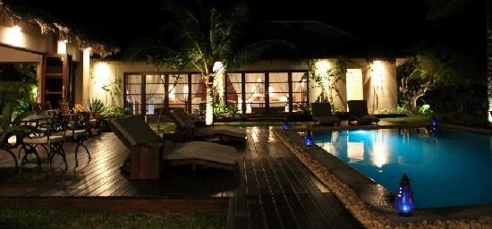 Chuiba, Mozambique: View to bedrooms