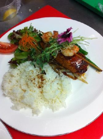 casarica Japanese Restaurant: Teriyaki salmon
