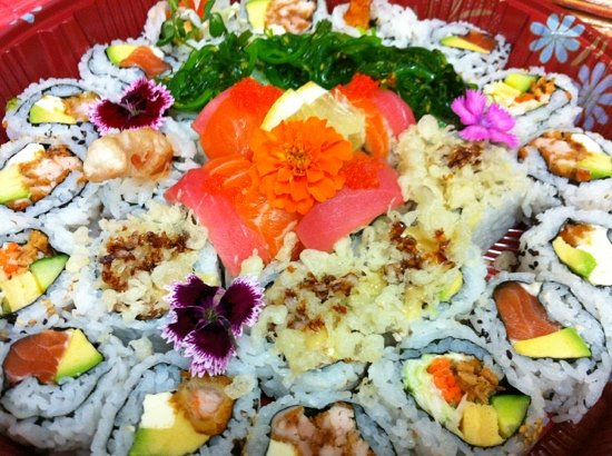casarica Japanese Restaurant : Party plate sushi