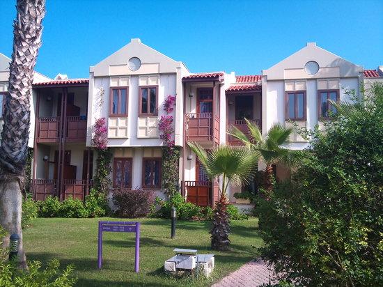 Club Tuana Fethiye: Our room block