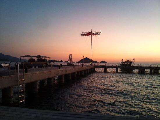 Club Tuana Fethiye: The jetty