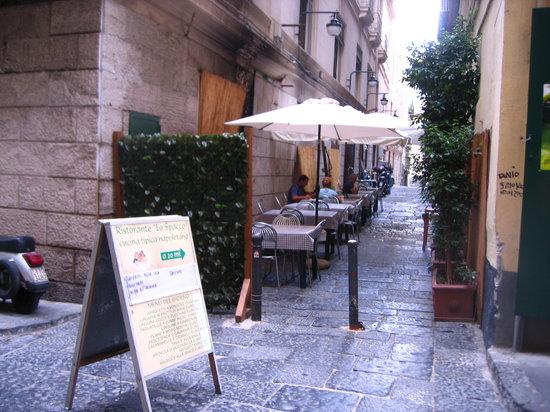 Lo Spacco: Mittagstisch
