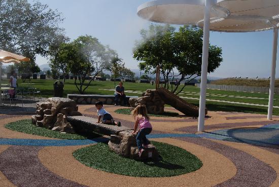 Orange County Great Park Kids Rock Playground