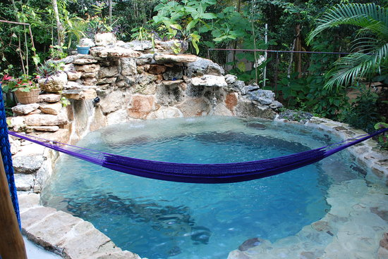 La Selva Mariposa: Hammock over pool, suite #4