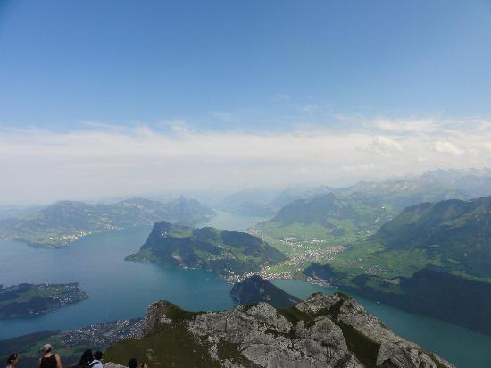 Hotel Pilatus-Kulm: Magnificent views