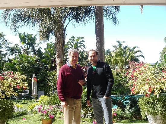 Essenwood House: John and my boyfriend!!