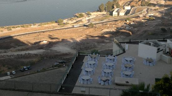 King Solomon Tiberias: Next door set up for wedding reception