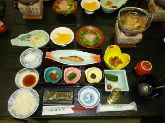 Oya no Yu: 朝食