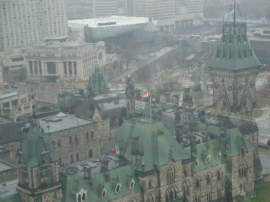 Parliament Buildings from the Peace Tower