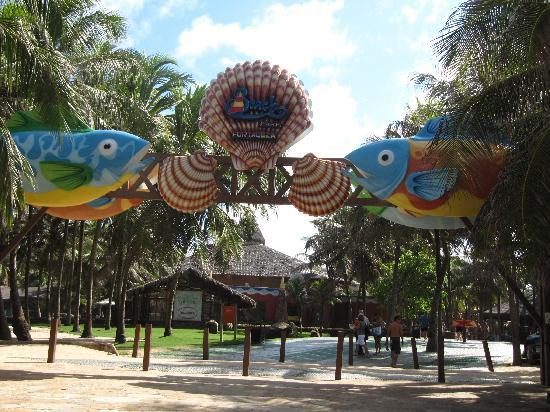 Beach Park: Entrada