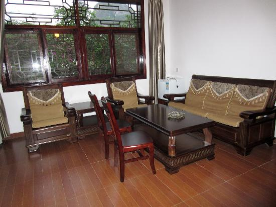 Yangshuo Dongling Resort: Living room