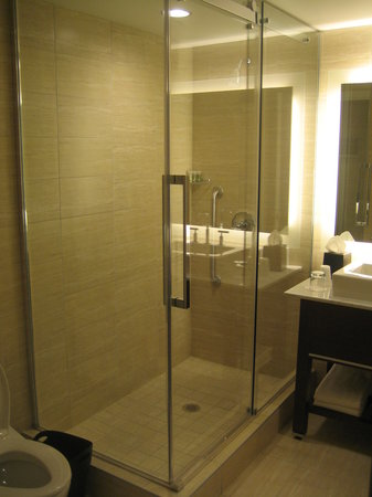 Westin Wall Centre Vancouver Airport: Shower