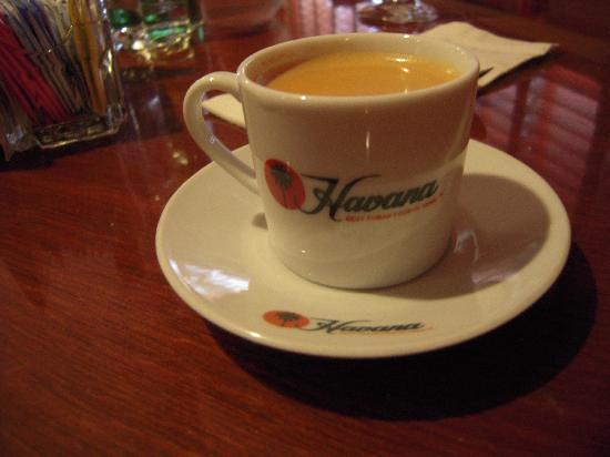 Havana : Cafe Cubano .......Awesome!