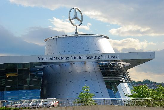 Office building picture of mercedes benz museum for Mercedes benz north america headquarters