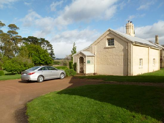 Woolmers Estate: our cottage