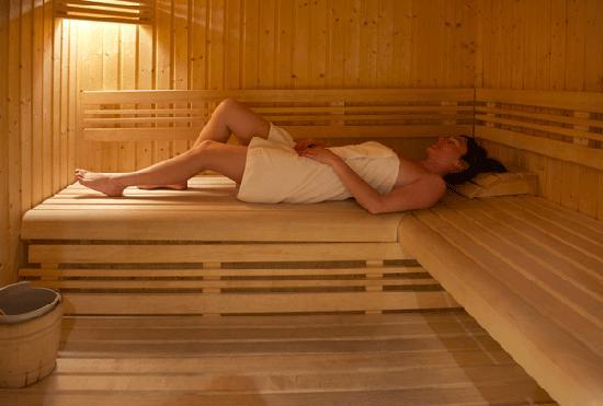 L Accroche Coeur: Le sauna