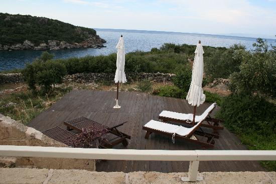 Katikies Manis: terrasse