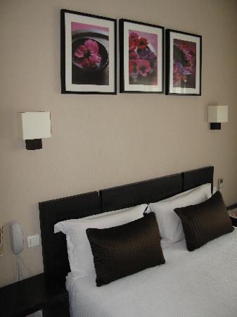 Hotel Alcyon: lit comfortable