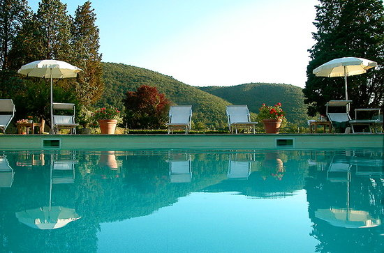 Villa di Piazzano: swimming pool