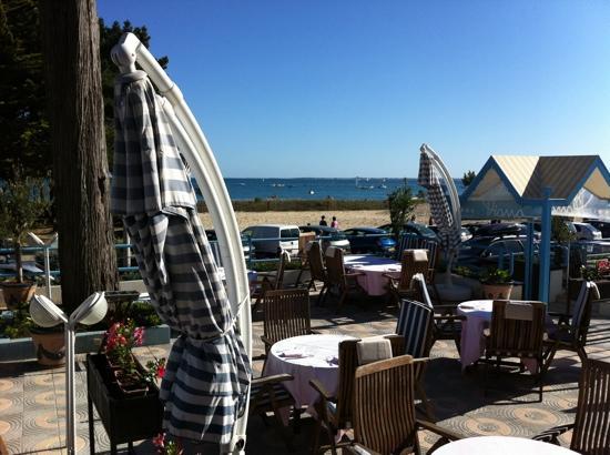 Hotel Le Diana : terrasse du restaurant