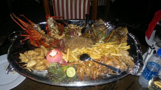 Red Sea Fish Restaurant : Naama bay