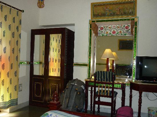 Hotel Vimal Heritage : notre belle chambre