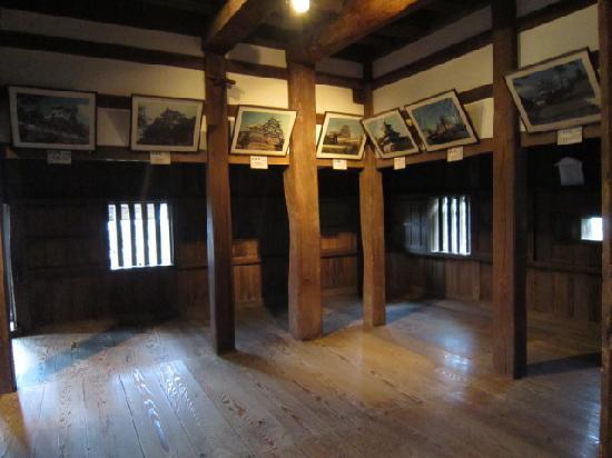 Maruoka Castle: 内部