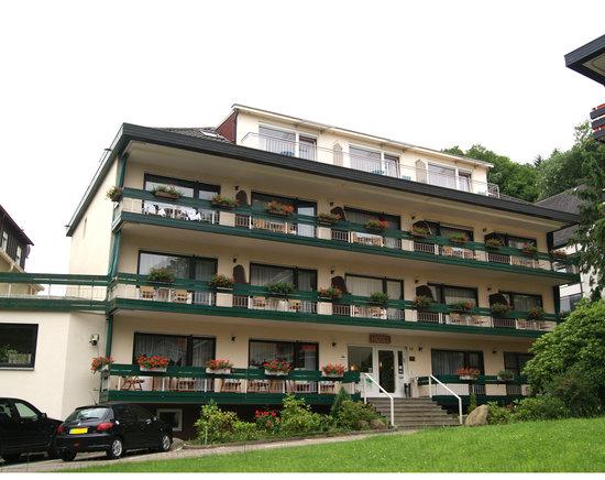 Allee Hotel Leidinger: Hotel Front