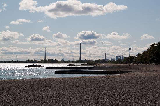Toronto Beach: Blick nach Toronto