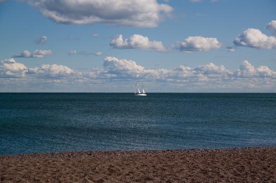 Toronto Beach: Blick aufs Wasser